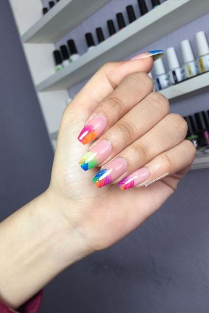 24+ Perfect Colorful Nails Designs 2020 That Scream Spring