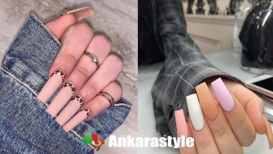 Stylish Square Acrylic Nails Ideas