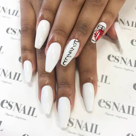 26 simple white nails designs 2020 that are easy to diy