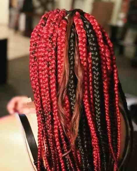 Beautiful Lava Braids
