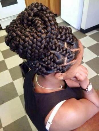 23 Amazing Jumbo Box Braids Ponytails 2020 For African Ladies