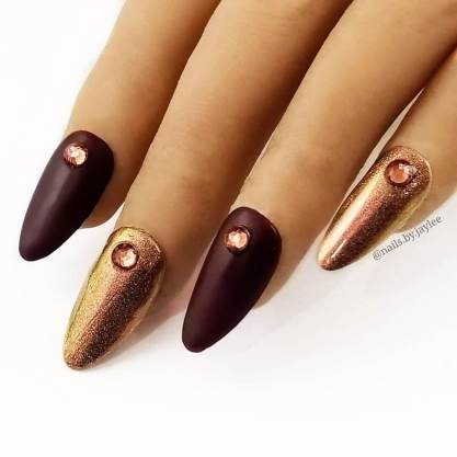 26+ Chic Burgundy Maroon Nails Best Ways to Wear In 2020