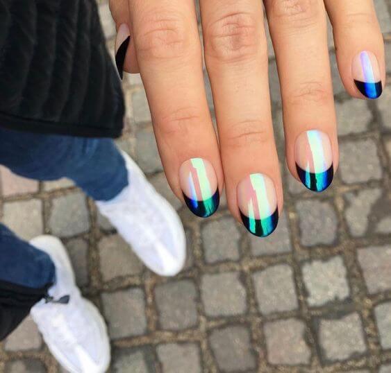 CD Inspired nail Idea