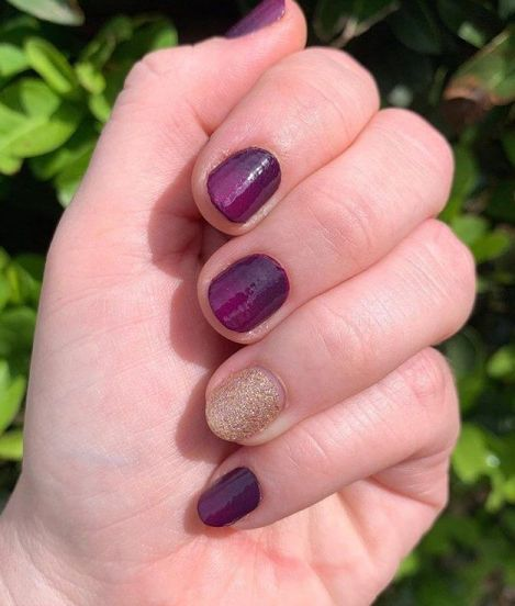 Accents for Short Acrylic Nails