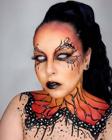 23 Pretty Butterfly Makeup Ideas for Halloween To Copy In 2020