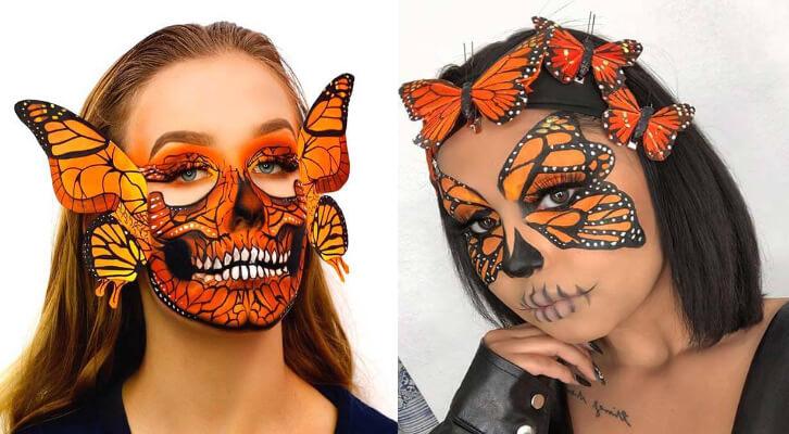 23 Best Butterfly Makeup Ideas for Halloween