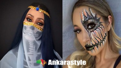 we have 22 of the best half-face Halloween makeup tutorials in 2020. These Halloween makeup ideas are exactly how they seem.