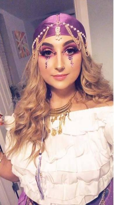 Cute Gypsy Makeup Idea