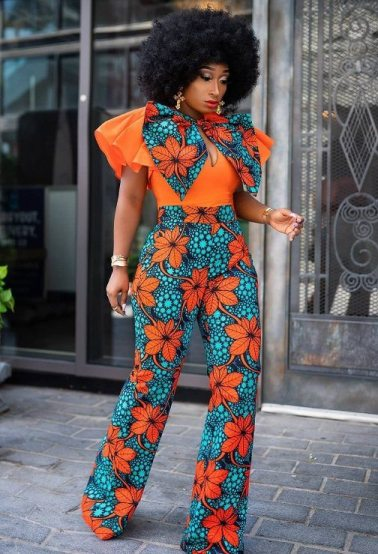 Jumpsuit With Flappy Sleeve
