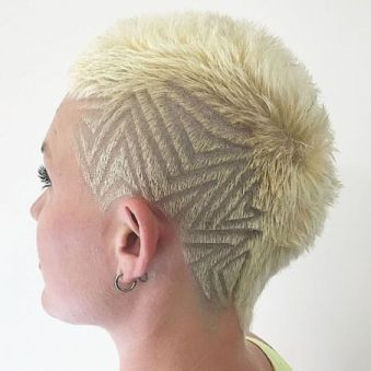 40 Awesome Fohawk Fade Haircut for women 2021 To Copy Now