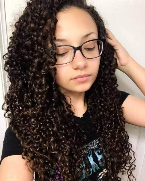 Short Curly Crochet