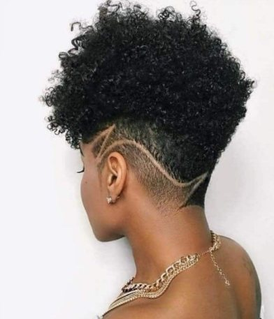 Fade for The Afro Curls