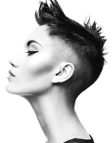 Spike Fade Haircut