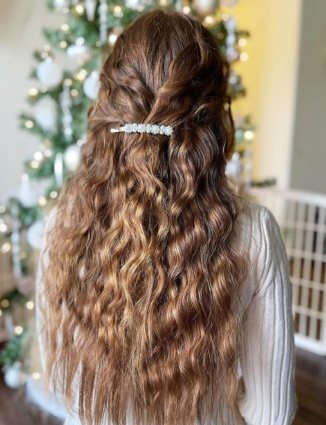 Long Bob with Side Braid