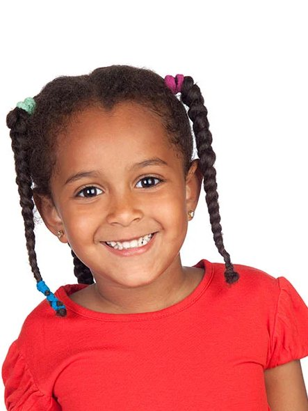 Kids Braids Hairstyles with Bands 2021