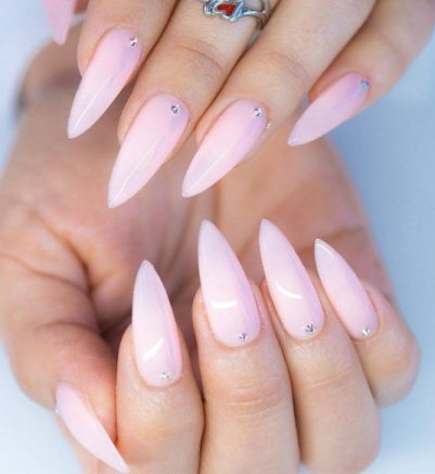 24 Cute Coffin Nails With French Tips To DIY Now