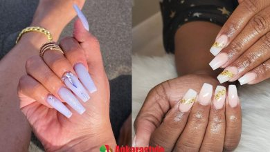 31 Cute White Acrylic Nail Designs 2021 To Copy Now