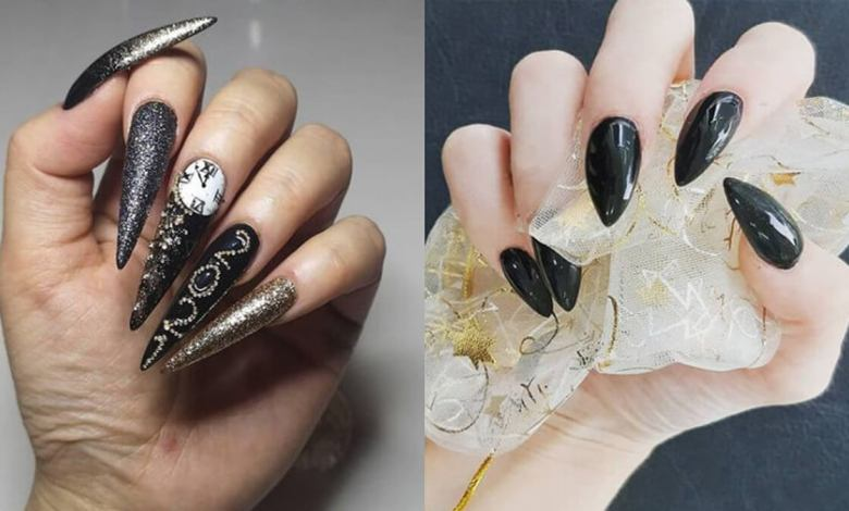 30 Black Acrylic Nails 2021 Trends Cute To Copy Now