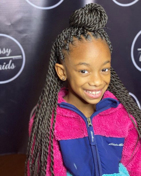 26 Braided Hairstyles For Kids 2021