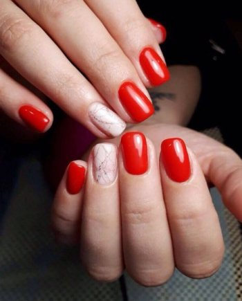 cane candy Nail