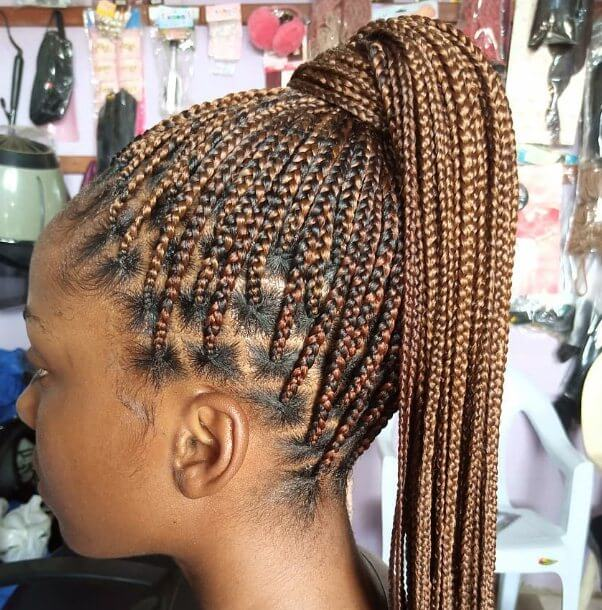 23 Excellent Large Knotless Box Braids To Copy In 2021