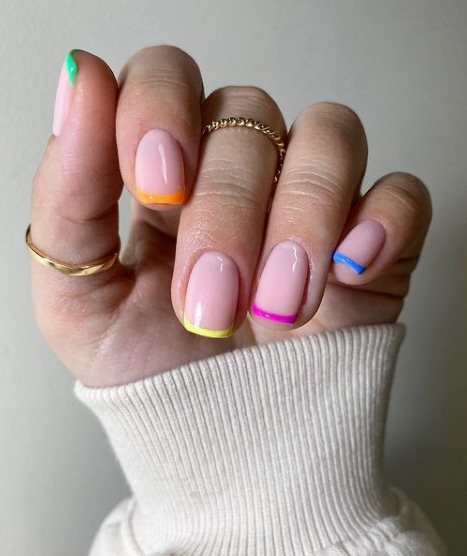 22 French Manicure Nails 2021 With Amazing Nail Care Tips