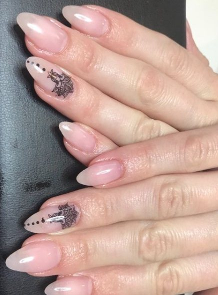 Nails with ornaments