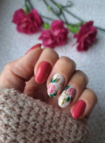 2. Long Pastel Nails