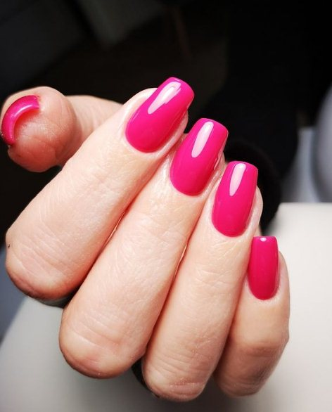 Pink Easter nail ideas