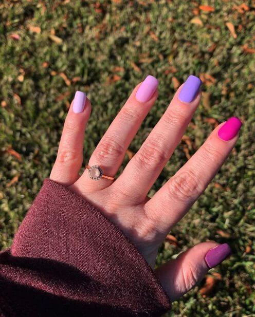 2. Purple Gradient Nails