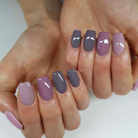 23 Purple Nail Designs For Spring 2021