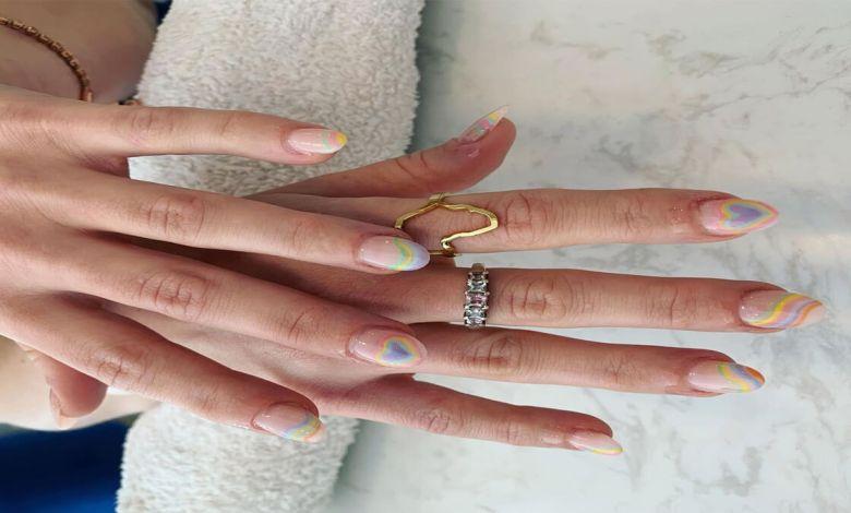 Unique Angel Nail Designs