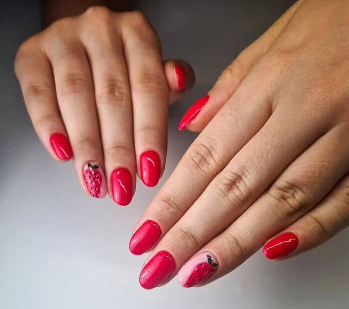 Fruity nail art ideas