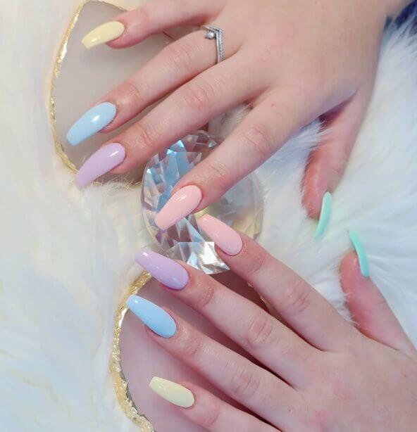 Pretty Pastels Nail Ideas