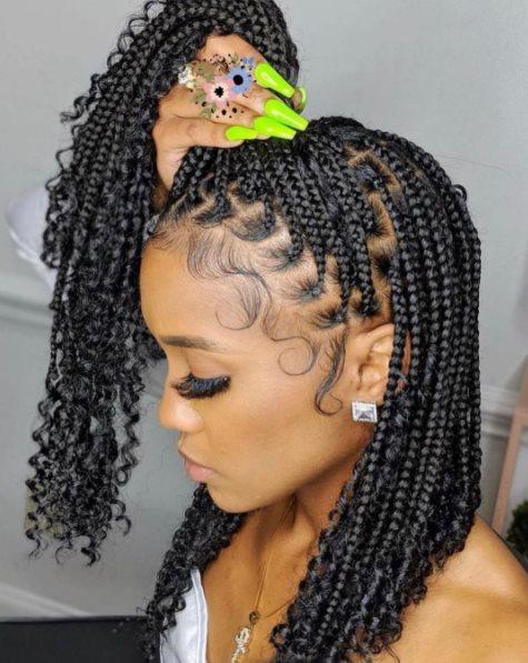 Senegalese Twist Crochet Braids