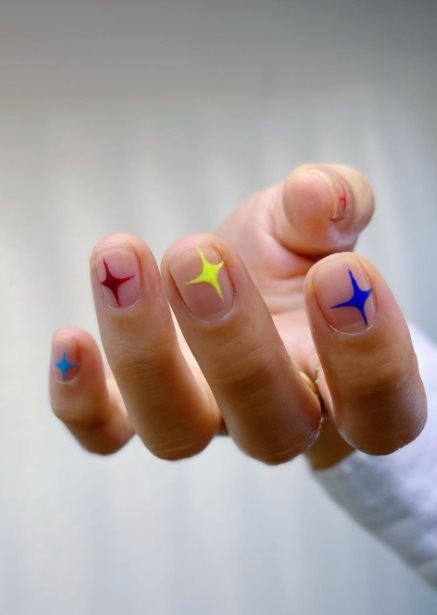 Star Nail Stickers for Pride