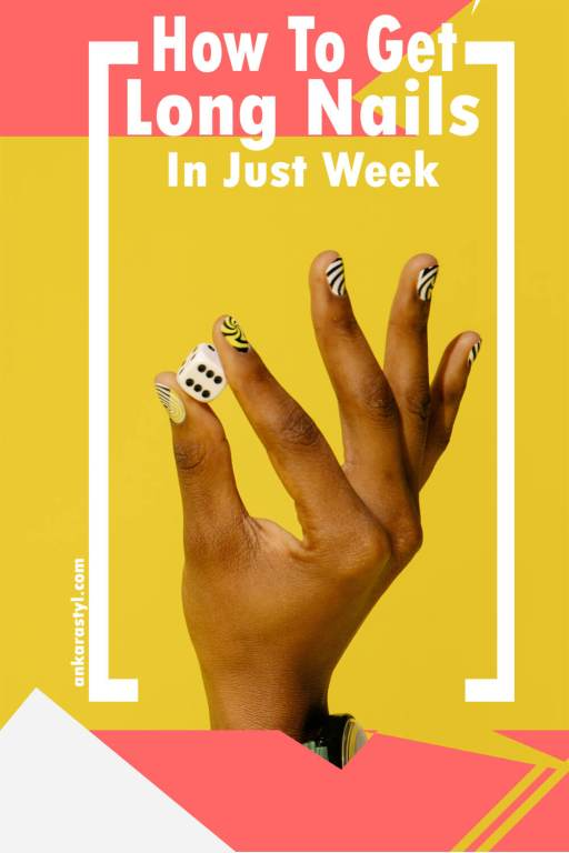 Get longer nails fast in a week:
