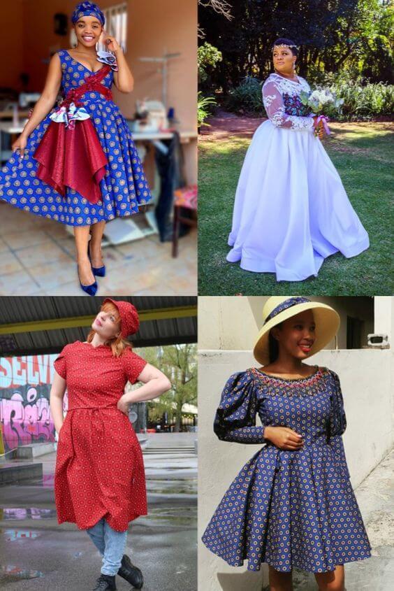 29 Latest Shweshwe Styles 2022 For Cute Women