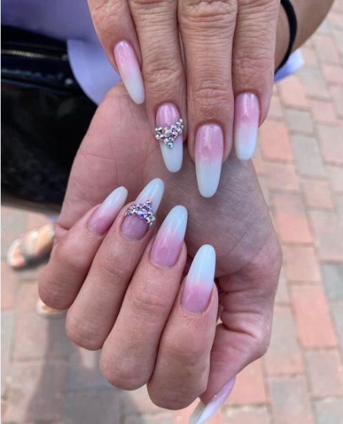 DIY wedding nails for brides