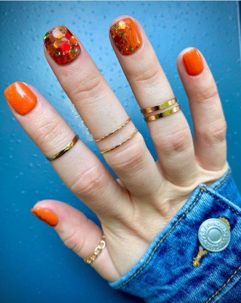 September nail designs