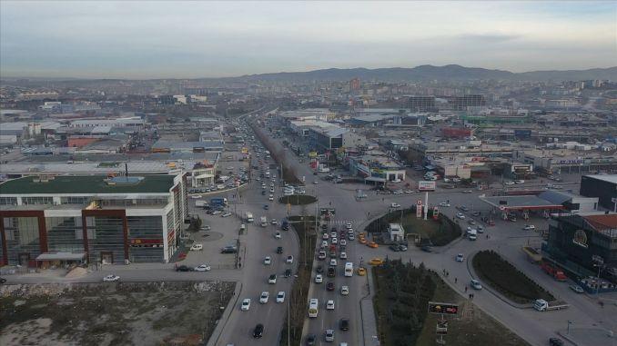 Şaşmaz Sanayi Bulvarı Trafik Çilesi Son Buluyor