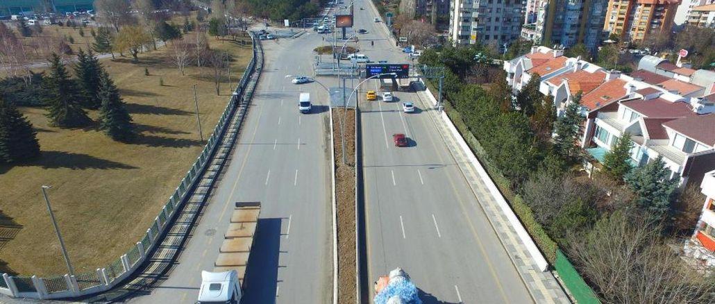 turan gunes bulvari trafigine nefes aldiracak proje hayata geciyor