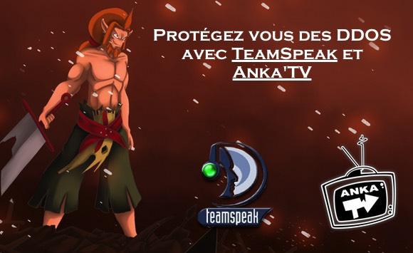 nous offrons un accès à notre serveur teamspeak