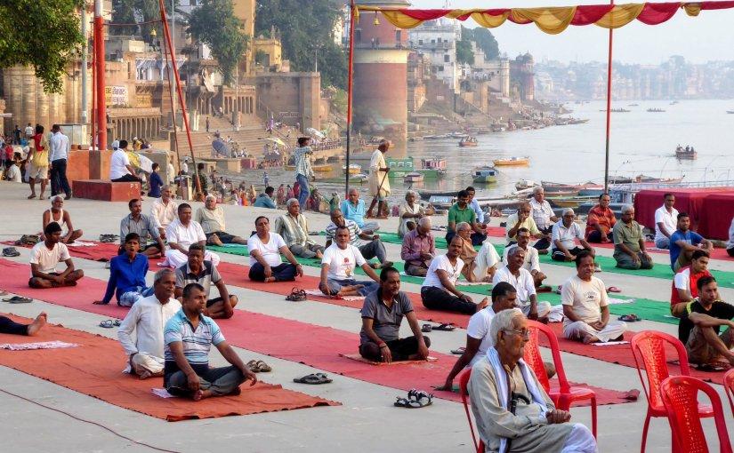 Varanasi und Yoga am Ganges