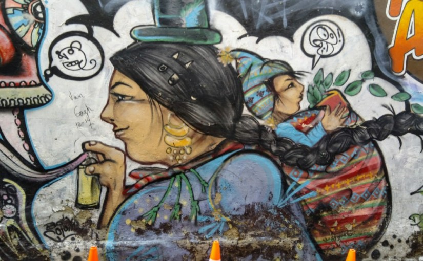 Cholitas in La Paz