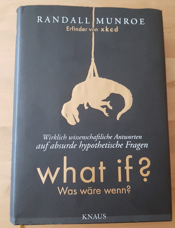 Buchcover von what if