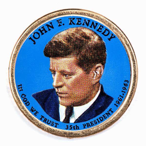 Gedenkmünze für Präsident John F. Kennedy
