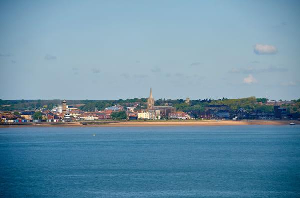 Foto der Küste bei Harwich
