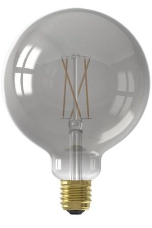 Calex Smart LED Filament Smokey Globe-la