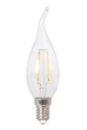 LED filament tipkaarslamp dimbaar 240V 3